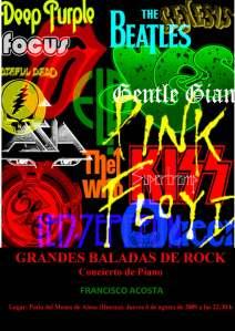 cartel concierto piano baladas rock