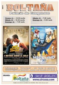 Cartel de los films de esta semana